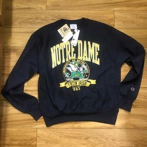 Champion Norte Dame Sweatshirt